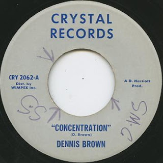 Dennis Brown - Concentration