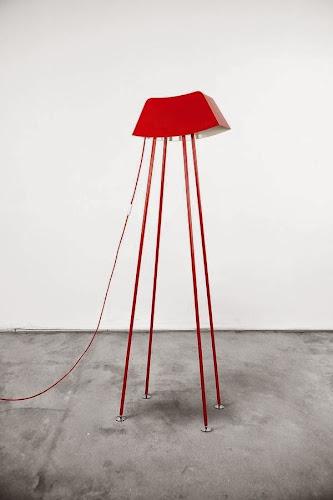 Monsieur Steel Floor Lamp by Marco De Masi