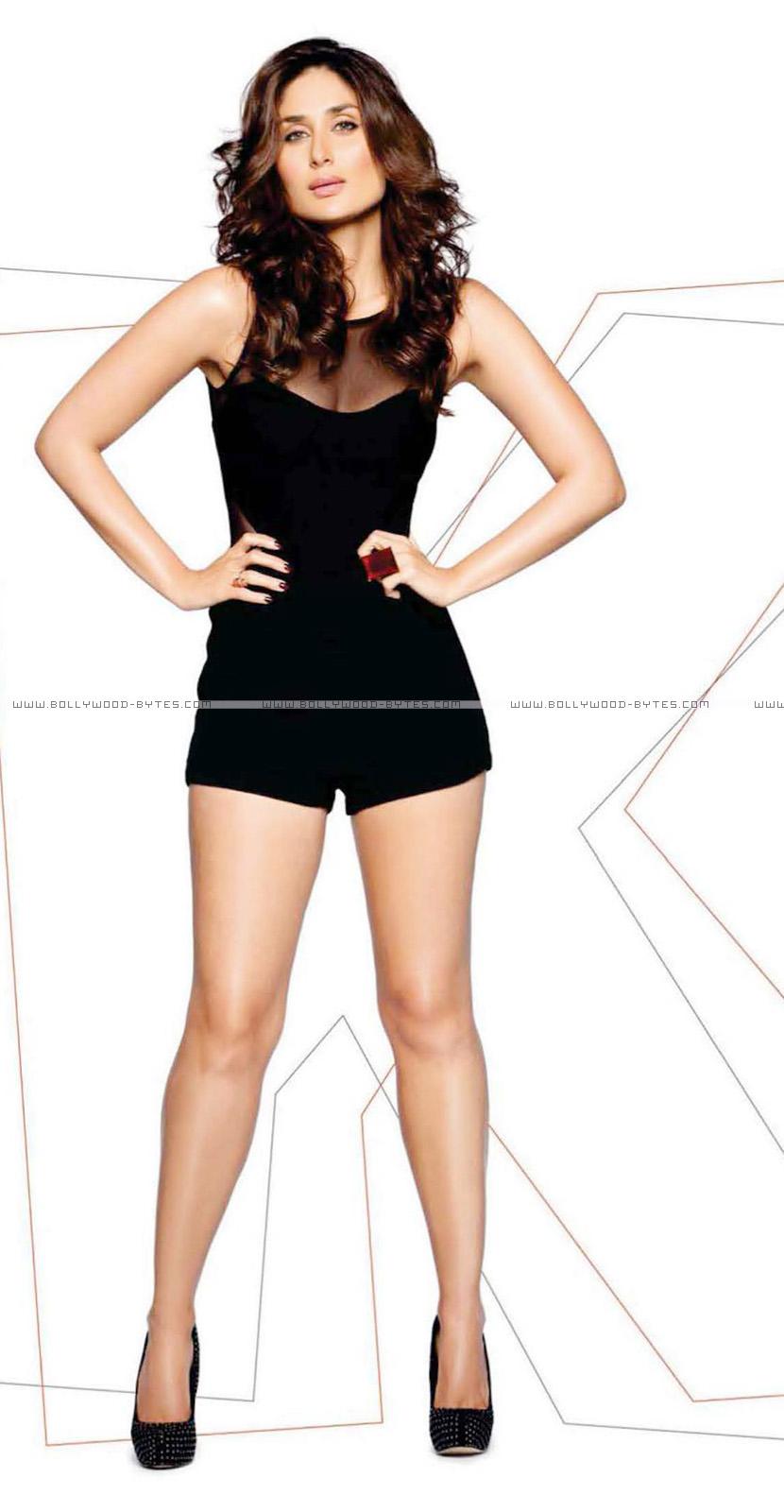 Kareena Kapoor's Super Hot Photoshoot Pics in Black dress