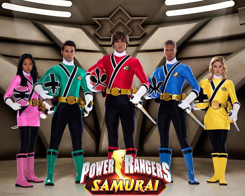 Rompecabezas Power Rangers Samurai