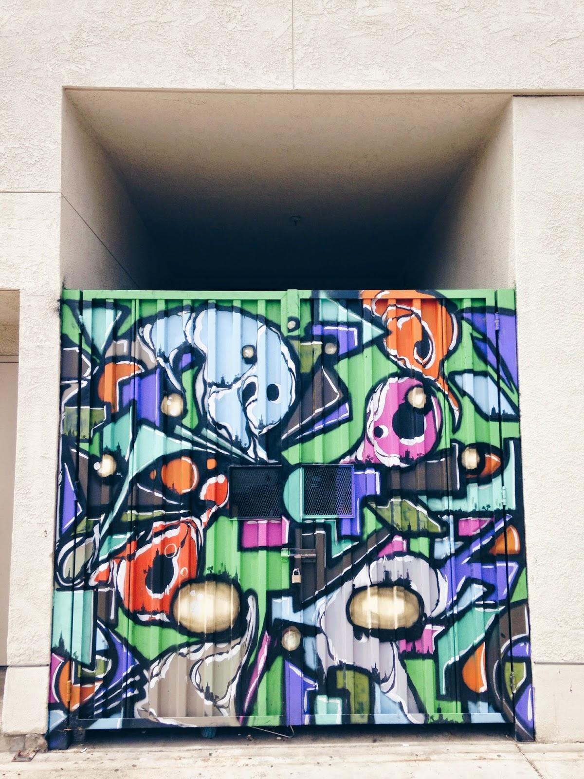 Courtney Tomesch Graffiti Street Art Santa Ana California