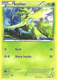 Scyther Boundaries Crossed Pokemon Card