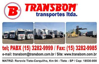 TRANSBOM Transportes Ltda Transporte de Contêineres