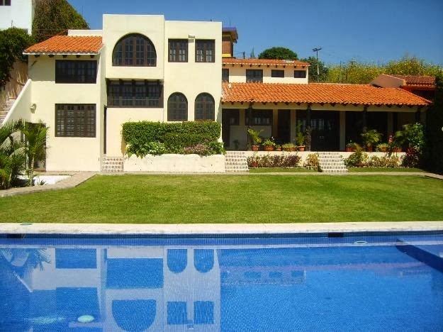 Fachadas de casas de campo fachadas de casas de campo con for Casas bonitas con alberca y jardin