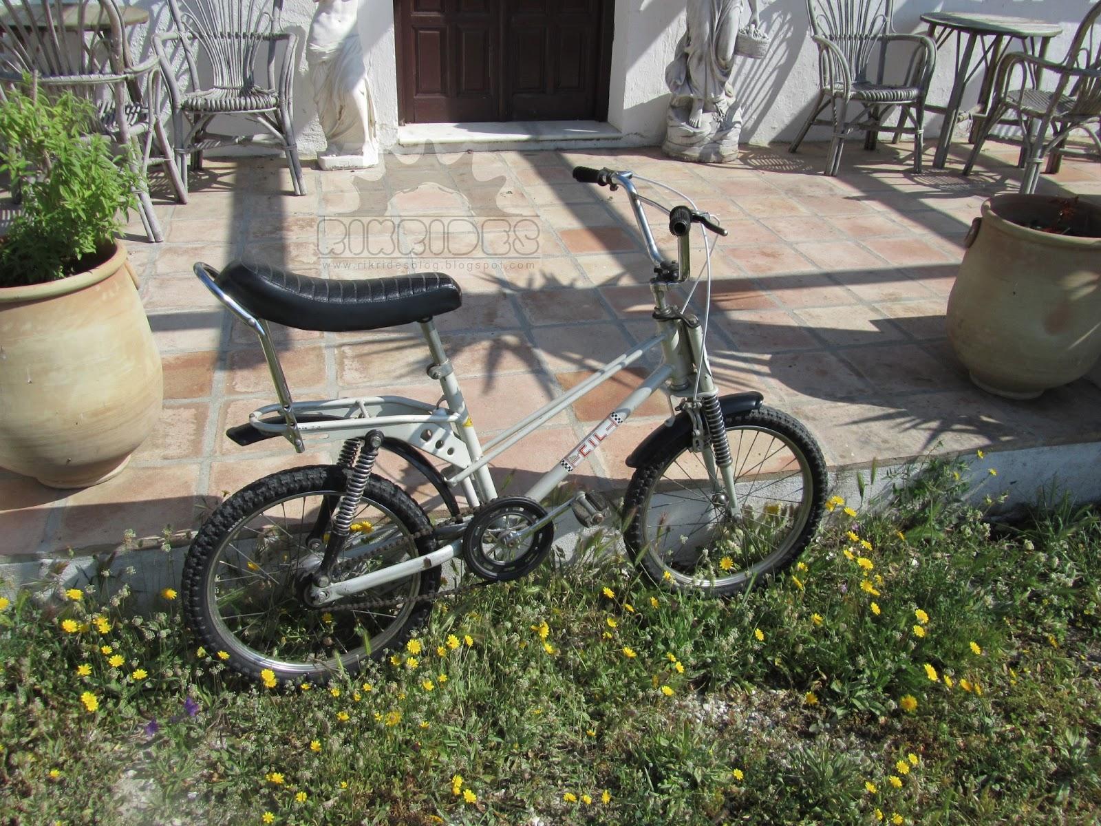 Bicicleta antigua - Bmx Super Cil terminada