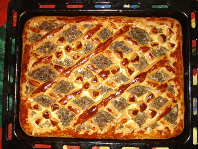 Рецепты мясного пирога в духовке