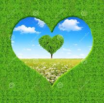 Encuentra los corazones verdes