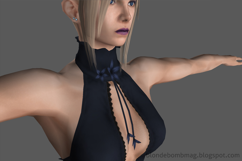 Death by Degrees Nina Williams Character Model