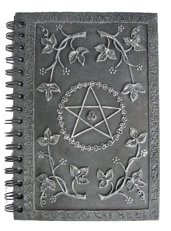 how to make a book of shadows cover