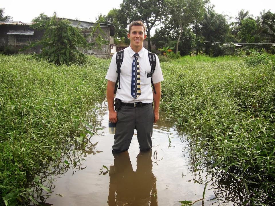 Elder Dahlin in Africa