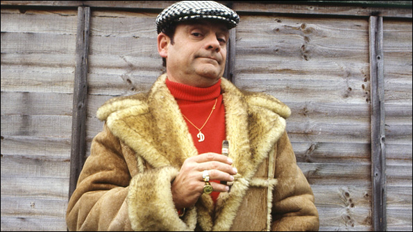 Del Boy, Derek Trotter, from Only Fools and Horses