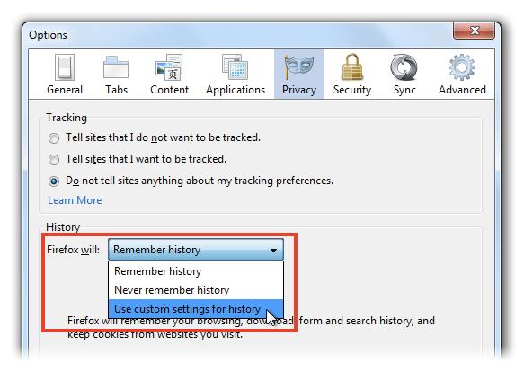 Cara Setting Cookie Di Mozilla Firefox