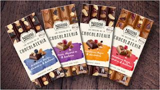 Prueba el chocolate Nestlé de las Recetas de la Chocolatería