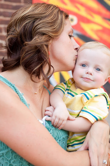 photography of motherhood with baby boy