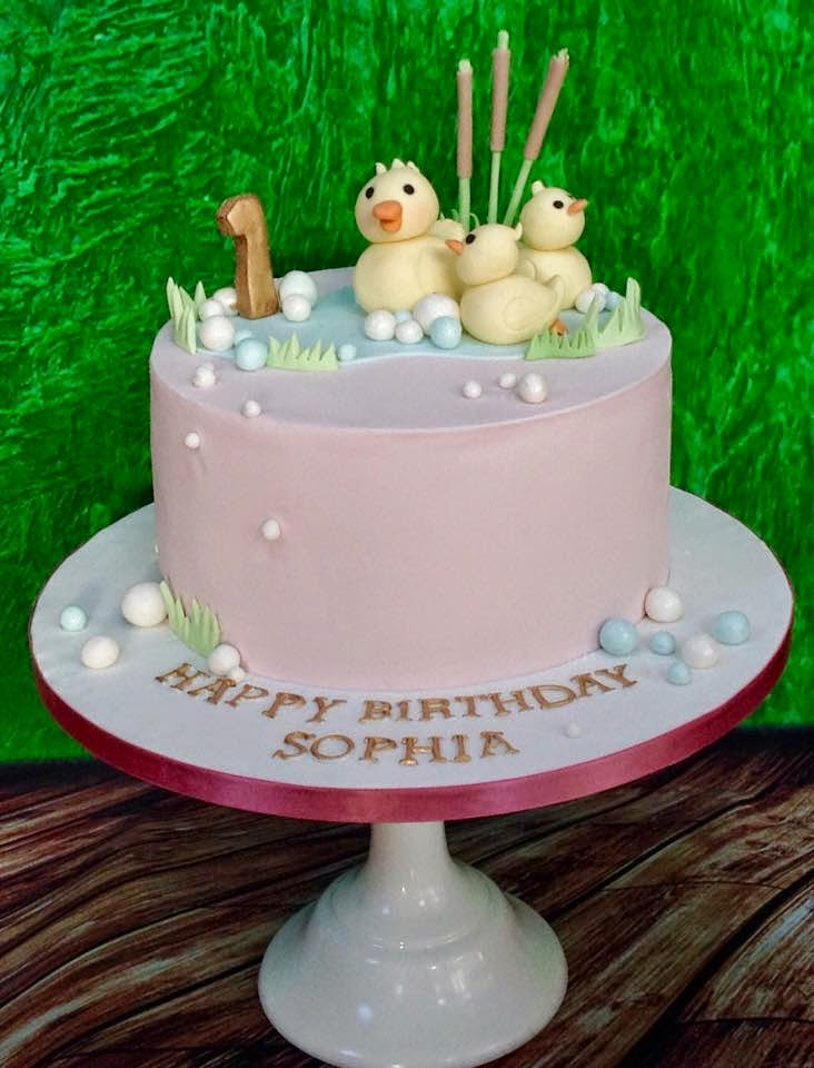 The Perfectionist Confectionist Sophia Duck Birthday Cake