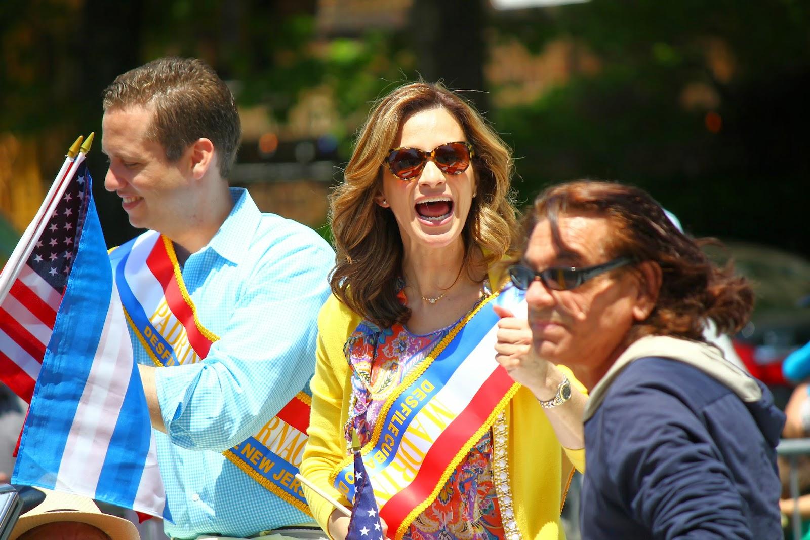 Desfile cubano de New Jersey USA