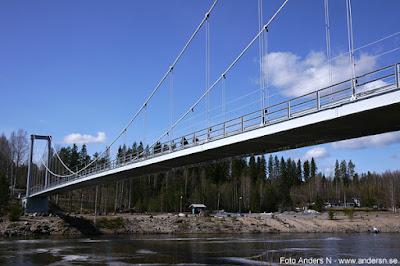 Bro Hängbro Hängbron svedjebron Boden