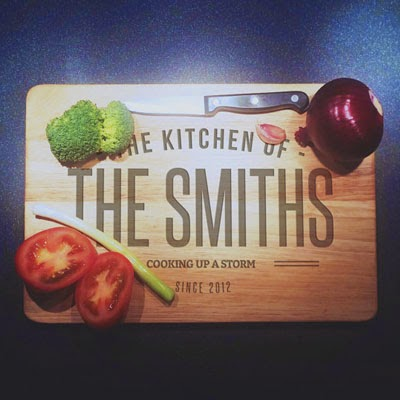 Ma Bicyclette: Buy Handmade | Christmas Gift Guide For Him - Personalised Chopping Board