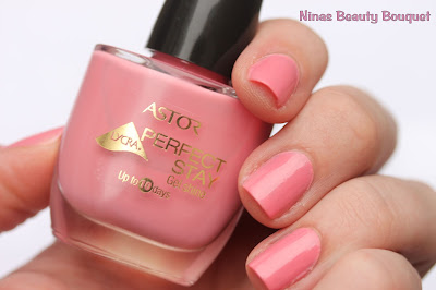 Astor Perfect Stay Gel Shine 111  Pine For Rose Nagellack