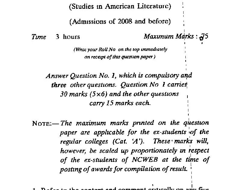 american literature term papers