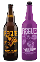 Here comes Rogue's honey beers for the spring!