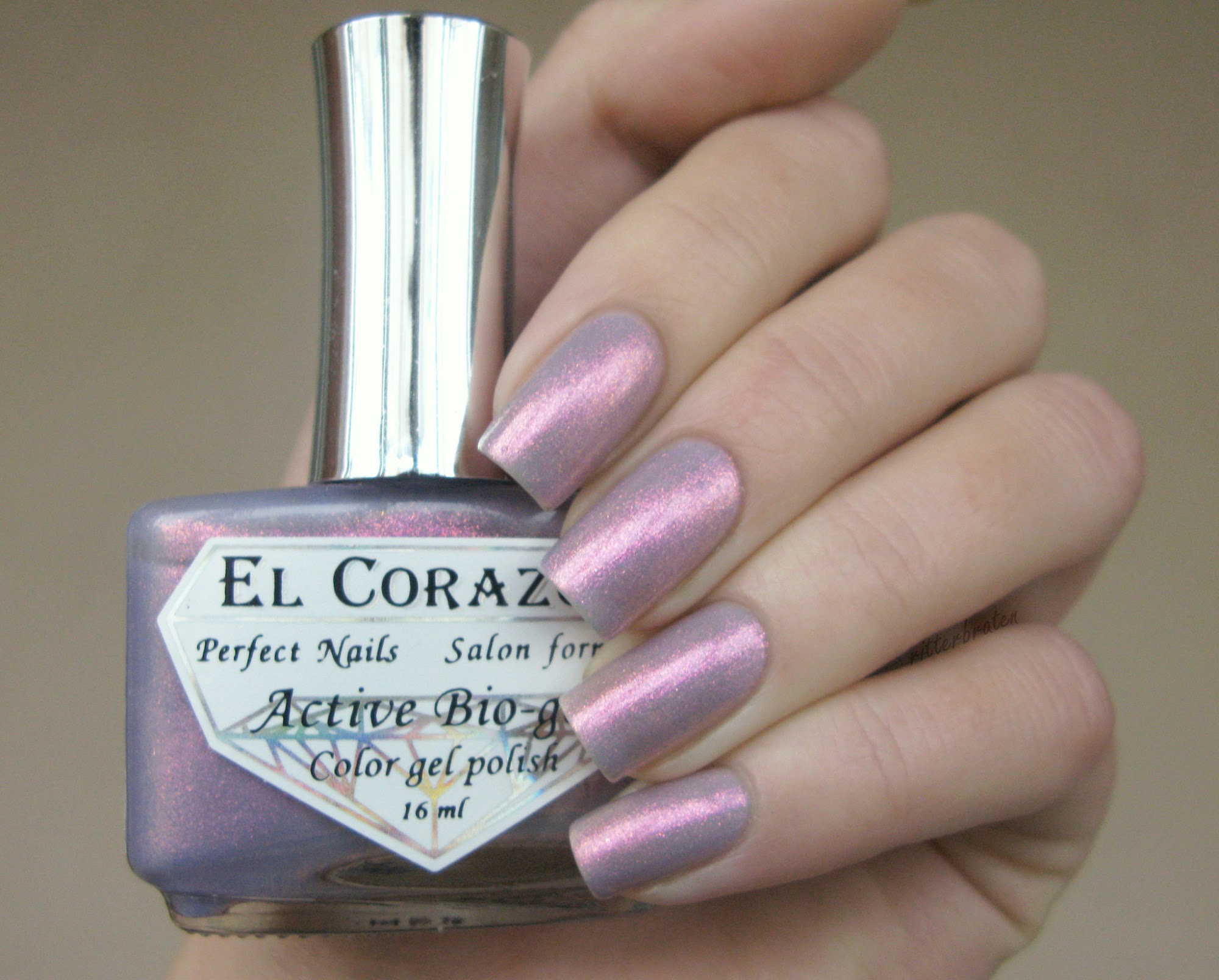el corazon magic tenderness nail polish