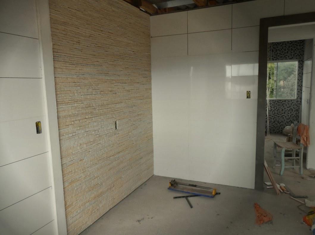 Meu pal cio de 64m parede de filetes da cozinha conclu da for Ceramica para revestir paredes