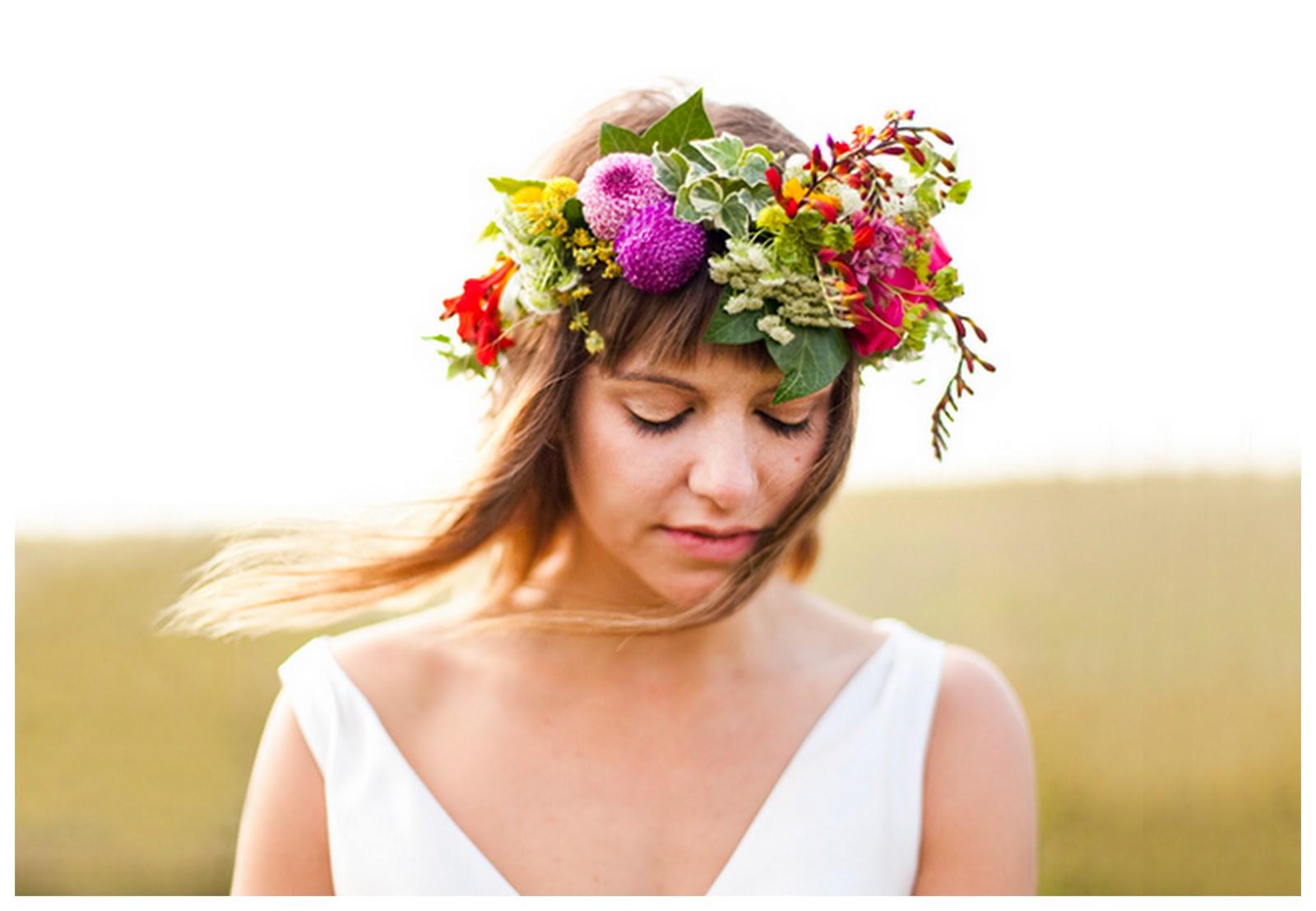 Wedding Flower Crown Suppliers : Wedding flower crowns