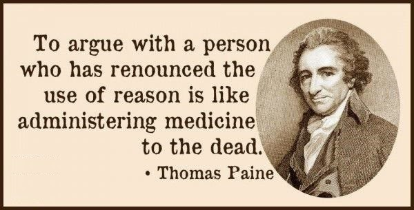 Thomas Paine Religion Quote Picture