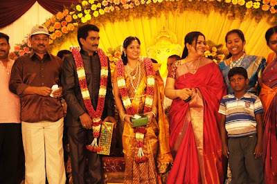 Director SP Hosimin Wedding Reception Pics film pics