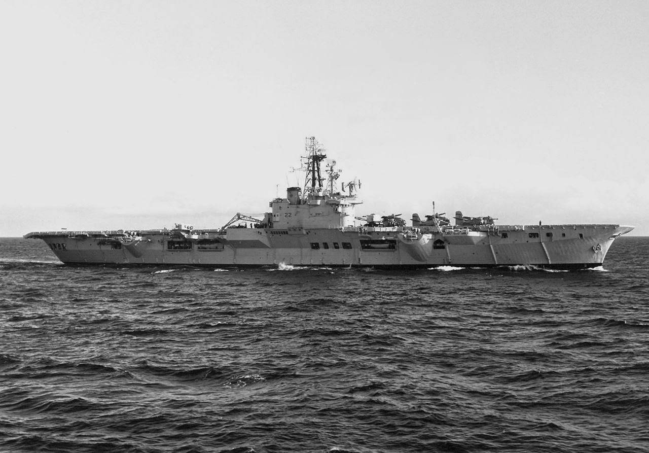 FDRA - Fuerza Naval: Portaaviones: HMCS Bonaventure (Canadá)