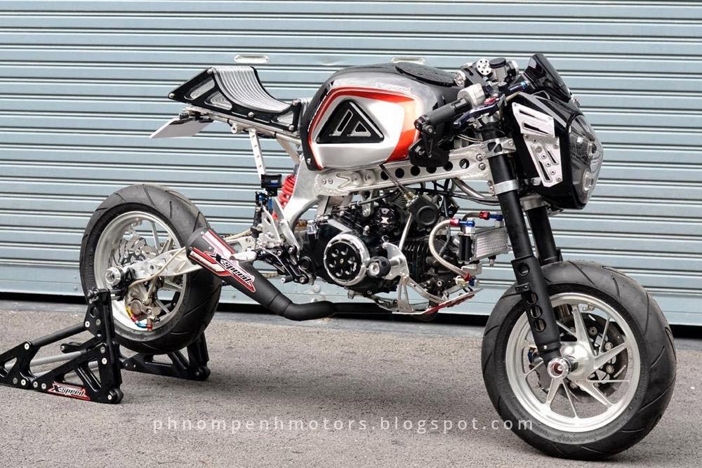 Pro Street Cafe Motorcycle