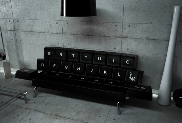 The Qwerty Sofa Seen On www.coolpicturegallery.us