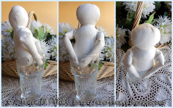 Grace Columbian doll body