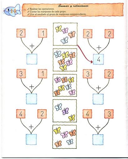 Mi Escuela Divertida: Actividades Ilustradas para Aprender a Sumar