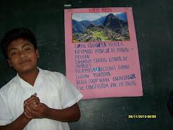 Fermín Alejandro Huertas Zapata exponiendo