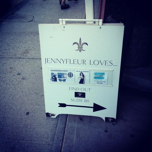 Jennyfleur loves a board, Vancouver