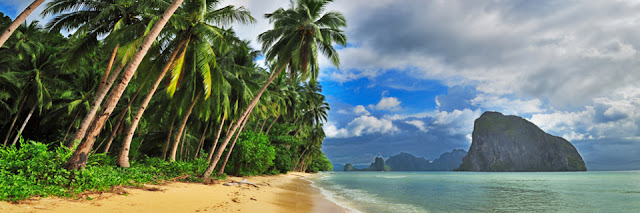 best beach in the world, Palawan area, Philipines