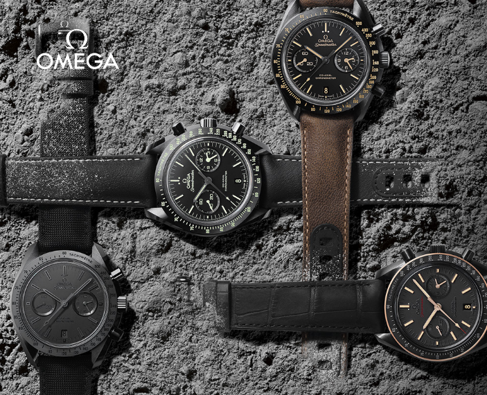 Colección Omega Speedmaster Dark side of the Moon
