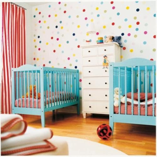 Habitaciones para dos beb s dormitorios con estilo for Habitaciones decoradas para ninas