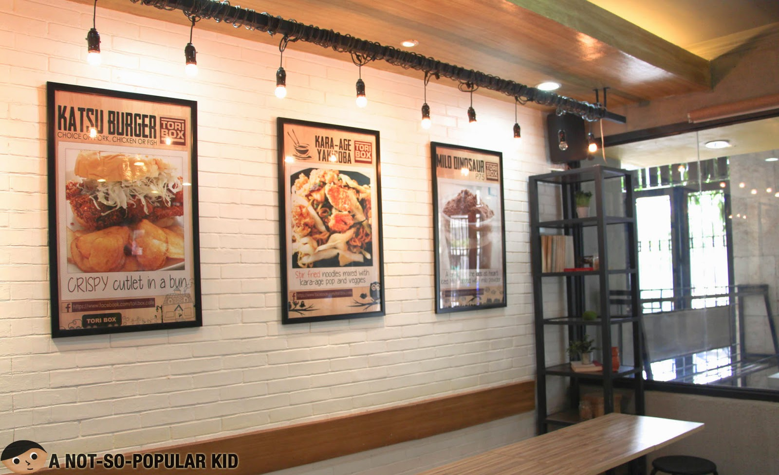 Another view of Tori Box's interior in Agno Street