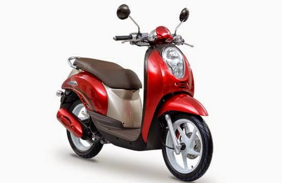 Honda Scoopy Red