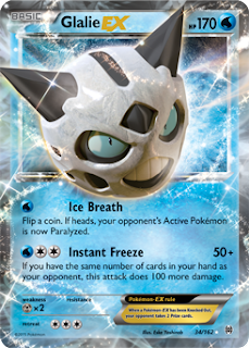 Glalie EX BREAKthrough Pokemon Card