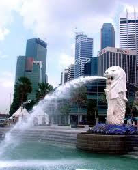 patung merlon singapura