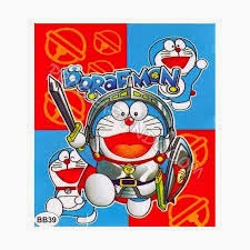 Jual Selimut New Seasons Blanket doraemon pedang