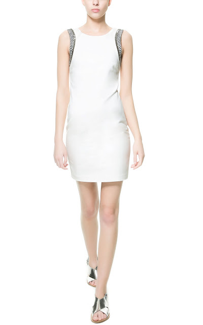 sleeveless dress, zara