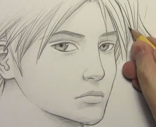 i want to learn how to draw real faces