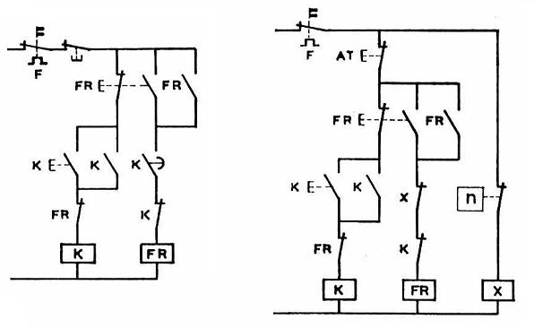 sch u00e9mas  u00e9lectriques et  u00e9lectroniques  freinage en contre  u2013 courant d u2019un moteur asynchrone triphas u00e9
