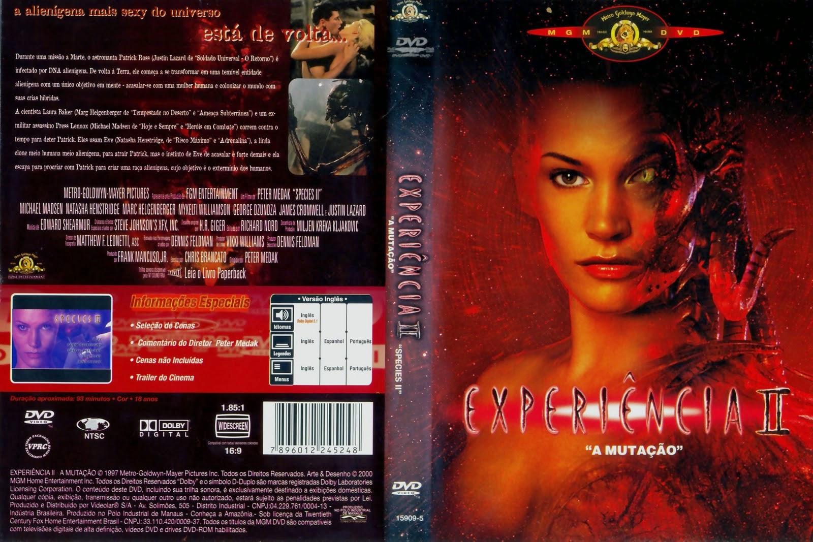 A Experiência 2 DVD Capa
