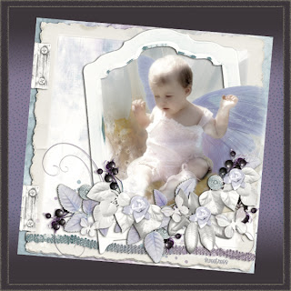 scrapbooking digital baby butterfloy flowers free download